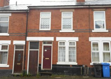 Thumbnail 2 bed terraced house to rent in Sun Street, Derby