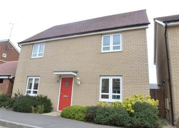 Thumbnail 4 bedroom detached house to rent in Mid Water Crescent, Hampton Vale, Peterborough