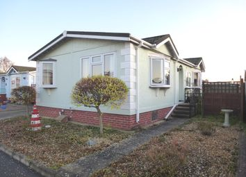 Thumbnail 2 bedroom mobile/park home for sale in Fenland Village, Osborne Road, Wisbech