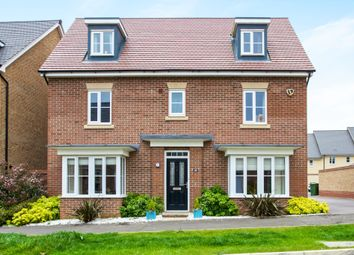 Thumbnail 5 bedroom detached house for sale in Summers Hill Drive, Papworth Everard, Cambridge