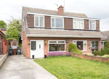 Thumbnail 3 bed semi-detached house to rent in Highwood Avenue, Moortown, Leeds, West Yorkshire