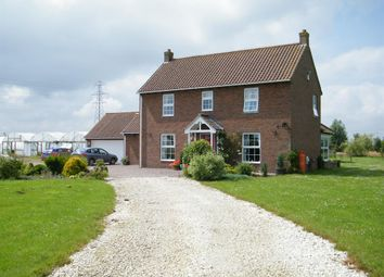 Thumbnail 3 bed detached house for sale in Church Lane, Croft, Skegness
