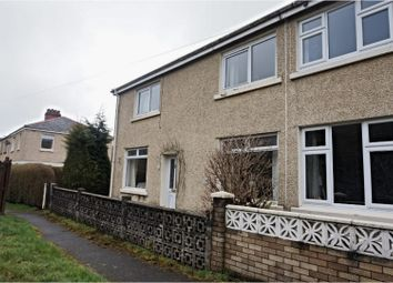 Thumbnail 4 bed semi-detached house for sale in Ogilvie Terrace, Bargoed