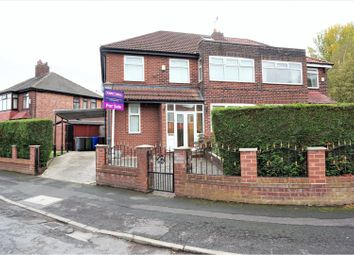 Thumbnail 4 bed semi-detached house for sale in Horncastle Road, Manchester