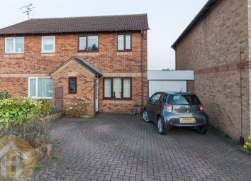 Thumbnail 3 bed semi-detached house for sale in Fuller Close, Swindon
