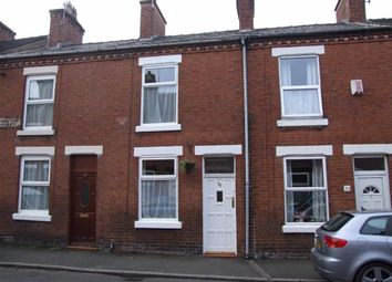 Thumbnail 1 bed terraced house to rent in Livingstone Street, Leek, Leek
