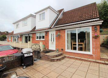 Thumbnail 3 bed semi-detached house for sale in Cwmtorlais Road, Newbridge, Newport