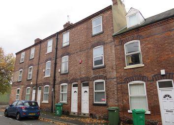 Thumbnail 4 bed terraced house to rent in Hart Street, Lenton, Nottingham