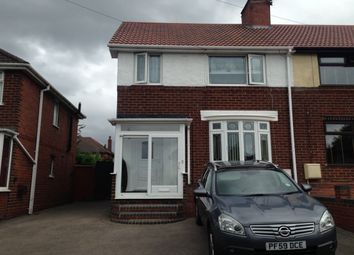 Thumbnail 3 bed semi-detached house to rent in Trinder Road, Bearwood, Smethwick