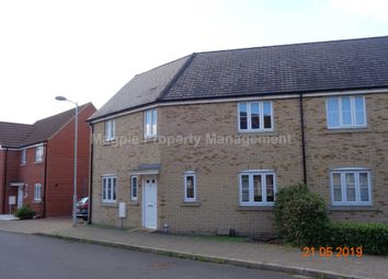 Thumbnail 3 bedroom semi-detached house to rent in Hull Way, St. Neots