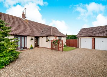 Thumbnail 3 bed detached bungalow for sale in Orchard Way, Badwell Ash, Bury St. Edmunds