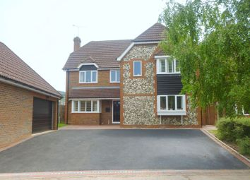 Thumbnail 5 bed detached house to rent in Bishops Field, Aston Clinton, Aylesbury