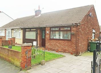 Thumbnail 4 bed semi-detached bungalow for sale in Fairclough Street, Burtonwood, Warrington, Cheshire