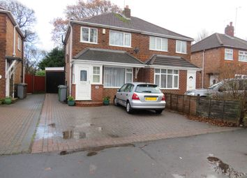 Thumbnail 3 bed property to rent in Hurdis Road, Shirley, Solihull