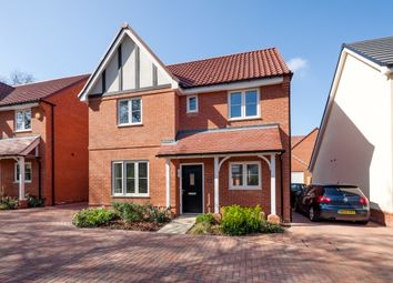 Thumbnail 4 bed detached house for sale in Larnach Drive, Kentford, Newmarket
