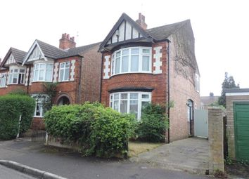 Thumbnail 3 bed detached house to rent in Cecil Road, Peterborough