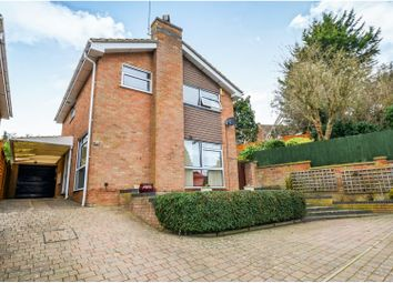 Thumbnail 4 bed detached house for sale in Spring Lane, Northampton