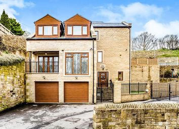 Thumbnail 4 bed detached house for sale in Gate House Mansion Holywell Green, Halifax, Stainland Road