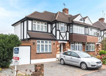 Thumbnail 4 bed semi-detached house for sale in Field End Road, Ruislip, Middlesex