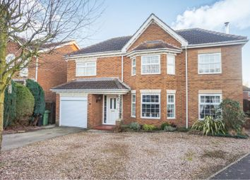 Thumbnail 4 bedroom detached house for sale in Westcroft Drive, Saxilby, Lincoln