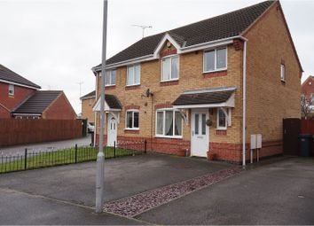 Thumbnail 3 bedroom semi-detached house for sale in The Hawthorns, Nottingham