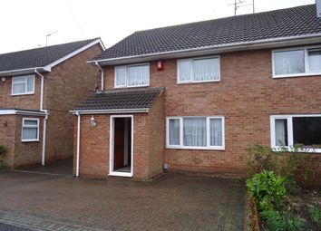 Thumbnail 3 bed semi-detached house to rent in Crabbett Road, Crawley