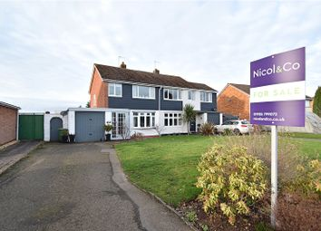 3 bed semi-detached house for sale in Blackfriars Avenue, Droitwich Spa, Worcestershire WR9