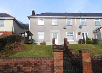 Thumbnail 3 bed end terrace house for sale in Glanhowey Road, Wyllie, Blackwood, Caerphilly