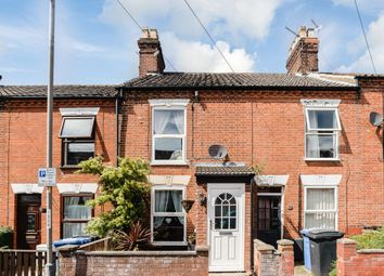 Thumbnail 2 bedroom terraced house for sale in Northcote Road, Norwich, Norfolk