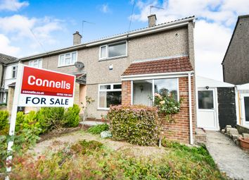 Thumbnail 2 bed semi-detached house for sale in Dulverton Avenue, Swindon