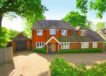 Thumbnail 4 bed detached house for sale in Amatola, Pincotts Lane, West Horsley