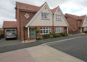 Thumbnail 3 bed semi-detached house for sale in Larkspur Drive, Highweek, Newton Abbot, Devon.