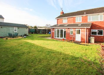 Thumbnail 4 bed semi-detached house for sale in Wellington Close, West Row