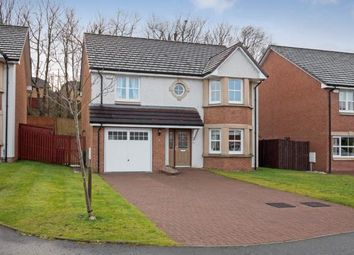 Thumbnail 4 bedroom detached house for sale in Cortmalaw Crescent, Robroyston, Glasgow, Lanarkshire