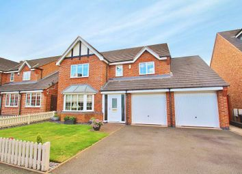 Thumbnail 4 bed detached house for sale in Hickling Close, Rothley, Leicestershire