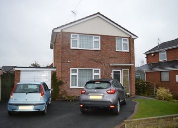 Thumbnail 3 bed detached house for sale in Farcroft Drive, Market Drayton