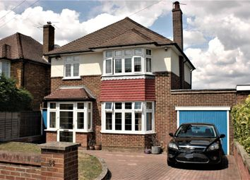 Thumbnail 4 bed detached house to rent in North View Crescent, Epsom