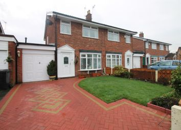 Thumbnail 2 bedroom semi-detached house for sale in Corfe Close, Urmston, Manchester
