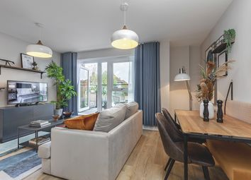 Thumbnail 1 bed flat for sale in Larkshall Road, London