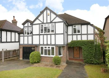 Thumbnail 5 bedroom detached house for sale in Holly Hill Drive, Banstead, Surrey