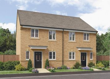 "Thumbnail 3 bed semi-detached house for sale in ""Hawthorne"" at Leeds Road, Thorpe Willoughby, Selby"