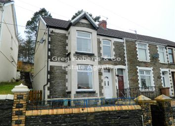 Thumbnail 3 bed end terrace house for sale in Farm Road, Pontlottyn, Caerphilly County.
