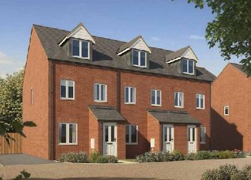 "Thumbnail 3 bed town house for sale in ""The Souter "" at Bishops Hull Road, Bishops Hull, Taunton"