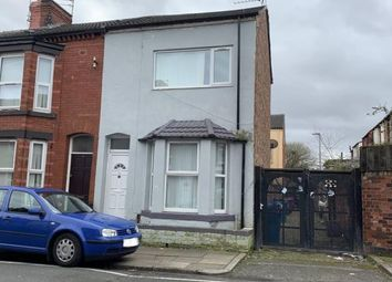 Thumbnail 3 bed end terrace house for sale in Ridley Road, Liverpool