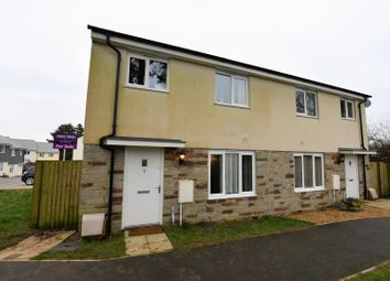 Thumbnail 4 bed semi-detached house for sale in Kingston Way, Penryn