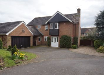 Thumbnail 5 bed detached house for sale in Oaks Road, Great Glen