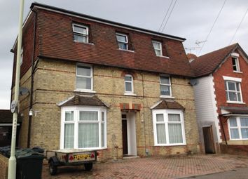 Thumbnail 1 bed flat to rent in Albemarle Road, Willesborough, Ashford