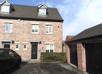 Thumbnail 4 bed end terrace house for sale in Lewis Walk, Kirkby, Liverpool