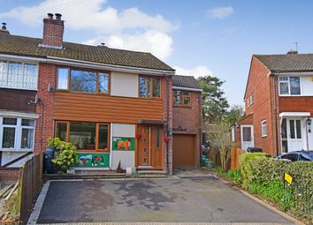 Thumbnail 4 bed semi-detached house for sale in The Rise, Cold Ash, Thatcham