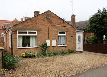 Thumbnail 2 bedroom bungalow for sale in Thorney Road, Crowland, Peterborough